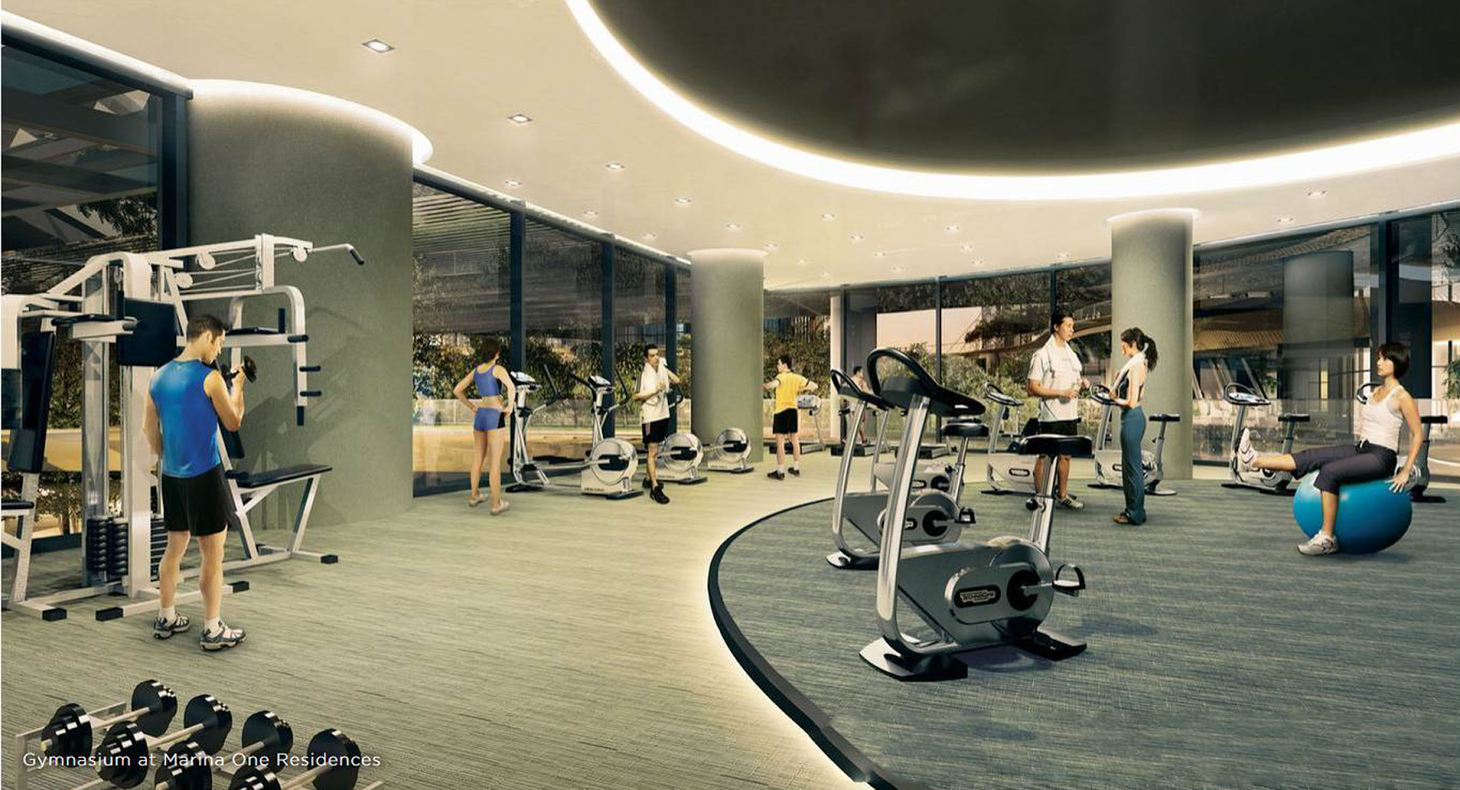 Marina One Facilities Gymnasium
