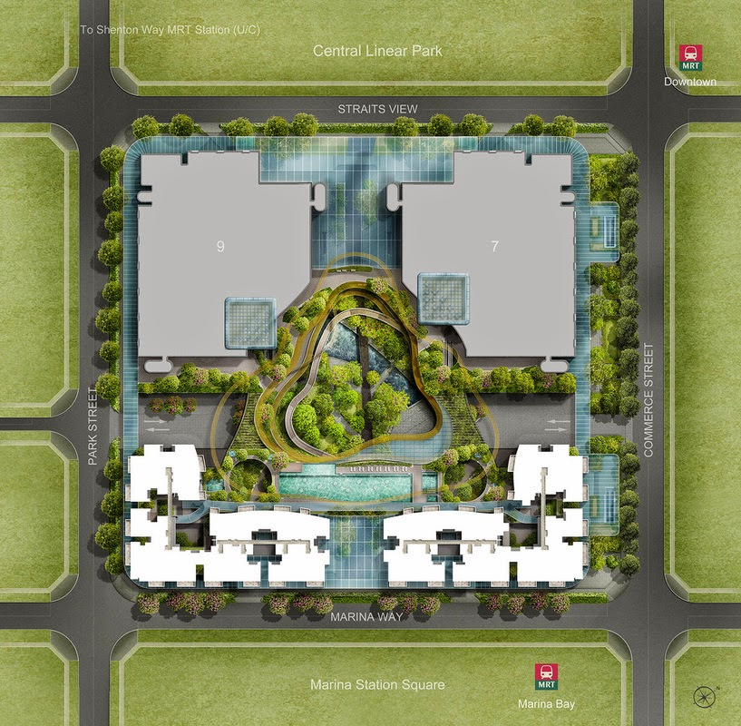 Marina One Residences Site Plan